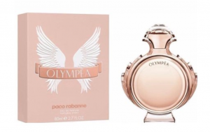 Paco Rabanne Olympea perfume for women with packaging